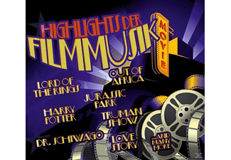 VARIOUS - Highlights Der Filmmusik! - (CD)
