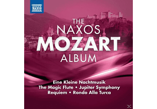 VARIOUS - The Naxos Mozart Album - (CD)
