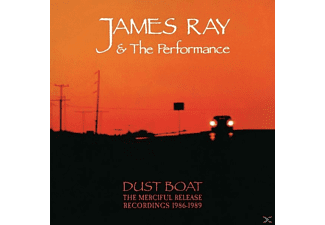 James Ray, Performance - Dust Boat-The Merciful Release Record.1986-1989 - (CD)