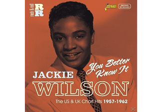 Jackie Wilson - You Better Know It - (CD)