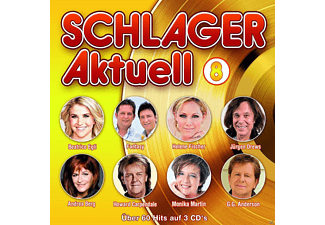 VARIOUS - Schlager Aktuell 8 - (CD)