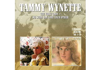 Tammy Wynette - The First Lady / We Sure Can Love Each Other - (CD)