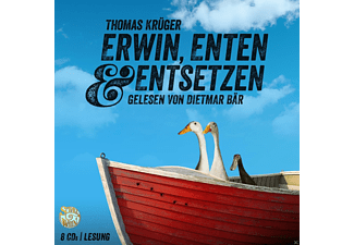Erwin, Enten & Entsetzen - 8 CD - Krimi/Thriller