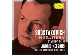 Andris Nelsons, Boston Symphony Orchestra - Under Stalin's Shadow - Symphony No. 10 (CD)