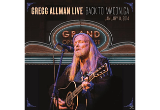 Gregg Allman - Gregg Allman Live: Back To Macon, Ga - (CD)