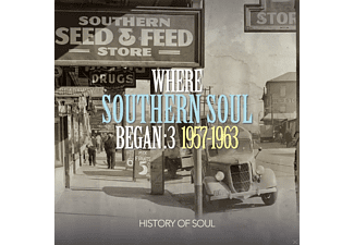 VARIOUS - Where Southern Soul Began Vol.3 - (CD)