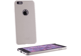 IDOL 1991 Θήκη Iphone 6 Plus FAceplate Ultra Thin Leather White  - (5205308141317)