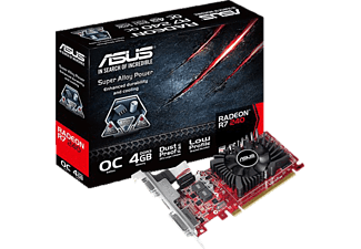 ASUS R7240-OC-4GD3-L( AMD, Grafikkarte) GPU Tweak & Treiber