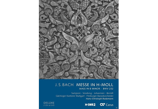 VARIOUS, Gächinger Kantorei Stuttgart, Freiburger Barockorchester - H-Moll Messe Bwv 232 (+Dvd) [CD + DVD Video]