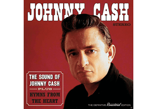 Johnny Cash - The Sound Of Johnny Cash+Hymns From The Heart - (CD)