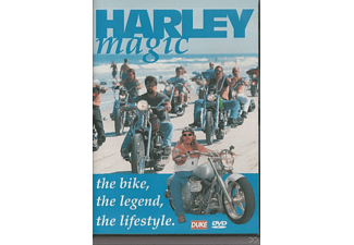 The Bike the Legend the Lifestyle - Harley Magic - (DVD)