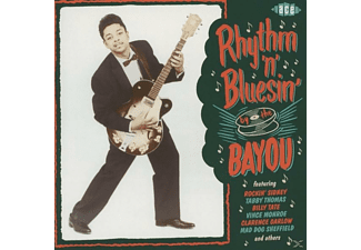 VARIOUS - Ryhthm'n'bluesin By The Bayou [CD]
