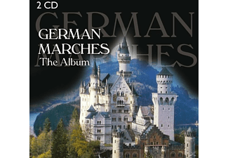 VARIOUS - German Marches - The Album [CD]