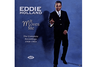 Eddie Holland - It Moves Me The Complete Recordings 1958-1964 - (CD)
