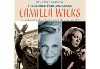 Camilla Wicks - Camilla Wicks In Concert - (CD)