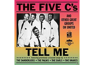Five C's & Others - Tell Me-Great Groups On United - (CD)