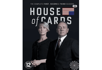 House Of Cards - Seizoen 1 t/m 3 | Blu-ray