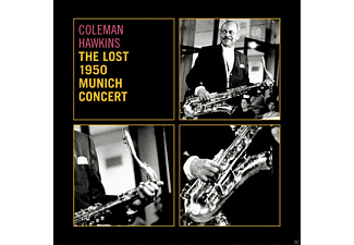Coleman Hawkins, James Moody, Nat Peck, Hubert Fol, Jean-Pierre Mengeon, Pierre Michelot, Kenny Clarke - The Lost 1950 Munich Concert - (CD)
