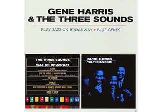 Gene Harris, The Three Sounds - Play Jazz On Broadway / Blue Genes - (CD)