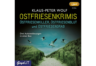 Ostfriesenkrimis - 3 MP3-CD - Krimi/Thriller