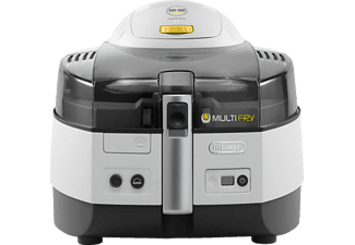 DELONGHI FH1363/1 MultiFry Extra Friteuse  1600 Watt Weiß/Anthrazit