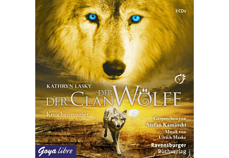 Der Clan der Wölfe 05: Knochenmagier - 3 CD - Science Fiction/Fantasy