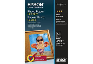 "EPSON 4"" x 6"" Photo Paper Glossy 50 Φύλλα (200gsm) - (C13S042547)"