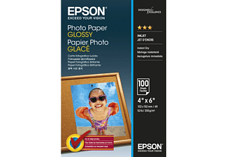 "EPSON 4"" x 6"" Photo Paper Glossy 100 Φύλλα (200gsm) - (C13S042548)"