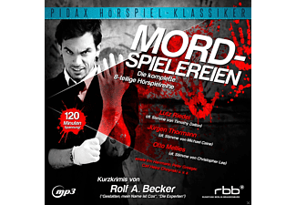 Mordspielereien - 1 MP3-CD - Krimi/Thriller