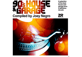 VARIOUS - 90's House & Garage(1) - (Vinyl)