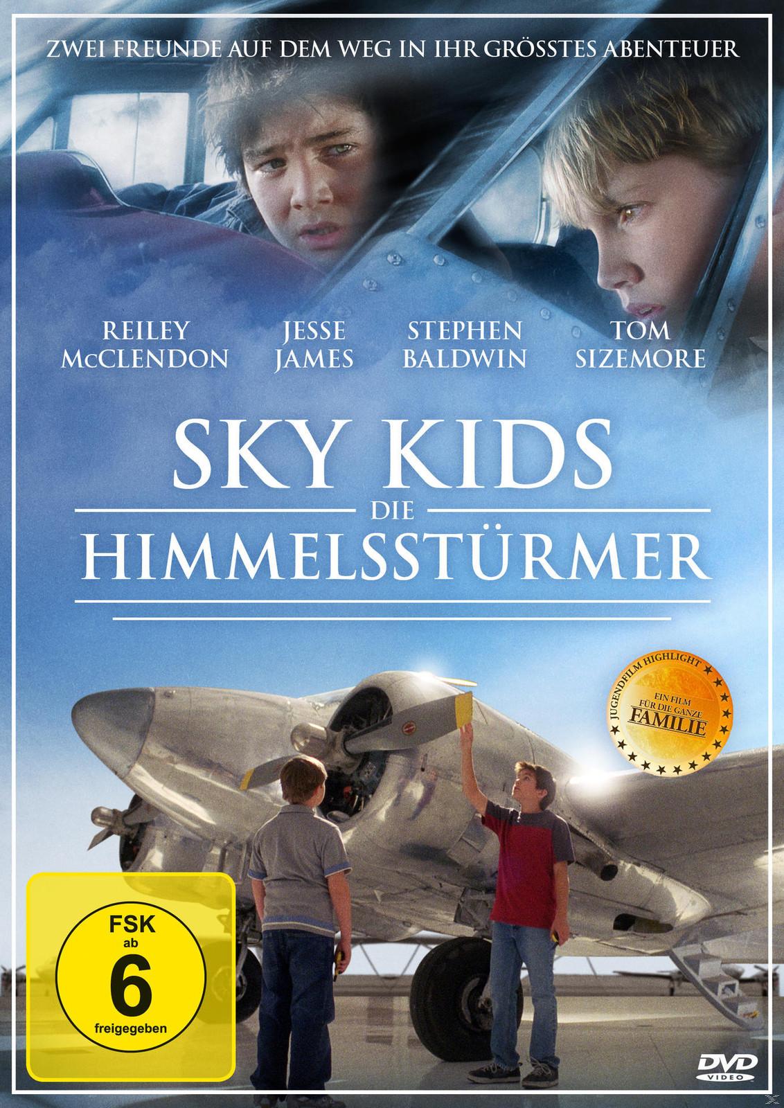 Sky Kids - Die Himmelsstürmer - (DVD)
