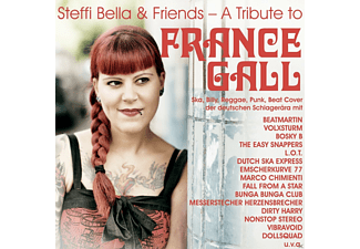 Steffi Bella, VARIOUS - A Tribute To France Gall (Ltd.Black Vinyl) - (Vinyl)