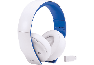 SONY PS4 Wireless Headset 2.0 - Vit/Blå