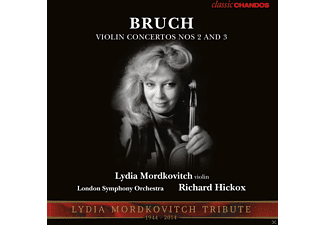 Lydia Mordkovitch, Hickox/LSO - Violinkonzerte 2 & 3 - (5 Zoll Single CD (2-Track))