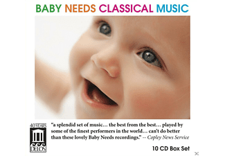 VARIOUS - Baby Needs Classical Music [CD]