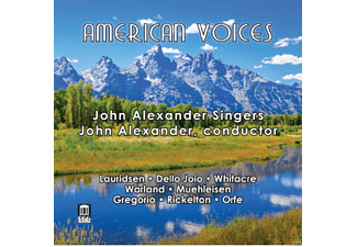 VARIOUS, John Singers Alexander - American Voices [CD]