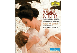 Freni/Domingo/Ludwig/Kerns/Karajan/WP - Puccini: Madama Butterfly [Blu-ray]
