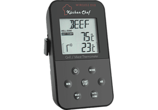 TFA KÜCHEN-CHEF Funk-Grill-Bratenthermometer