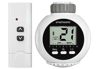 Smartwares Draadloze Radiatorkraan met afstandsbediening