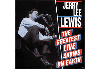 Jerry Lee Lewis - Greatest Live Shows On Earth - (CD)