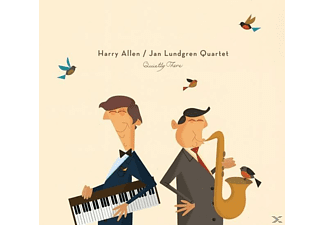 Allen, Harry / Lundgren Quartet, Jan - Quietly There - (CD)