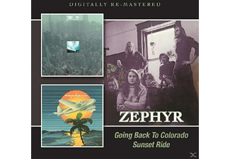 Zephyr - Going Back To Colorado/Sunset Ride - (CD)