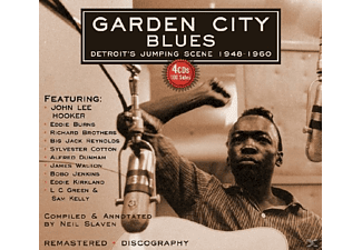 VARIOUS - Garden City Blues - (CD)