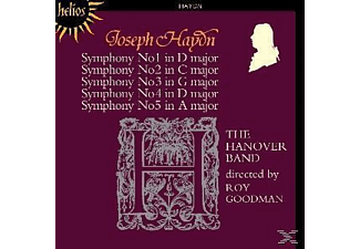 The Hanover Band - Symphonies Of Joseph Haydn 1-5 - (CD)