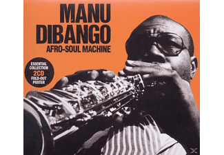 Manu Dibango - Afro-Soul Machine-Essential Collection - (CD)