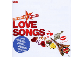 VARIOUS - World's Biggest Love Songs - (CD)