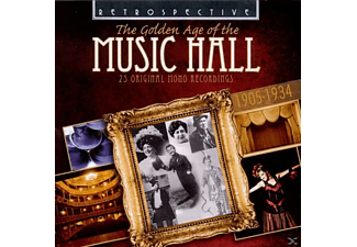 VARIOUS - Golden Age Of The Music Hall (1905-1934) - (CD)