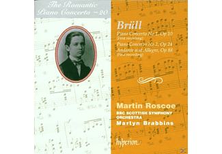 ROSCOE, M./BRABBINS, M./BBCS - Romantic Piano Concerto Vol.20 - (CD)