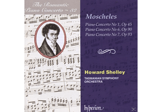 Howard/tasmanian Symphony Shelley, Howard/tasmanian So Shelley - Romantic Piano Concerto Vol.32 - (CD)