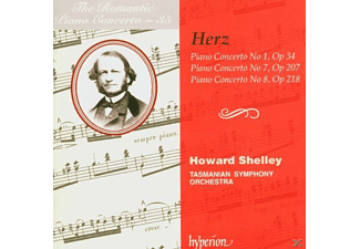 SHELLEY/TASMANIAN SYMPHONY ORCHESTR, Shelley/Tasmanian SO - Romantic Piano Concerto Vol.35 - (CD)